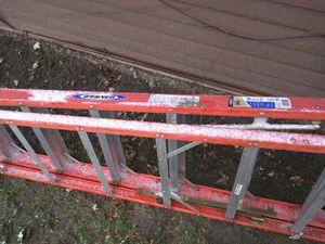 Werner 12-ft ladder 300# lb load fiberglass for Sale in Cleveland, OH