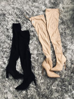Heels, Boots and Thigh/over the knee boots for Sale in Chelmsford, MA