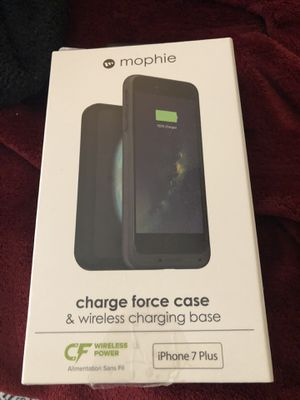 Mophie charge force case & wireless charge base for Sale in Lexington, KY