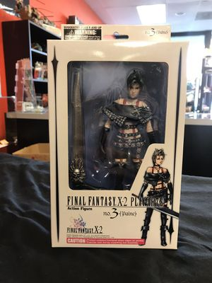 Final Fantasy X-2 Play Arts Paine action figure for Sale in Vancouver, WA
