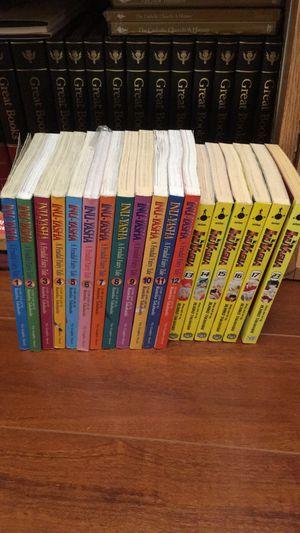 Inuyasha manga 1-17 and 23 for Sale in San Antonio, TX