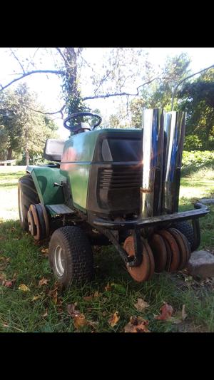 60 hp craftsman lawnmower/plow for Sale in Woodstown, NJ