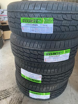 275/55/20 new tires for Sale in Moreno Valley, CA