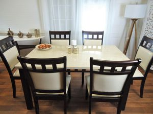 Dining table set 6 Chairs NEW for Sale in Baltimore, MD