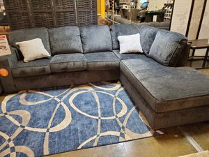 Fabric Sectional Sofa, Slate for Sale in Garden Grove, CA