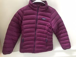 Patagonia girls jacket size large for Sale in Long Grove, IL