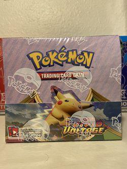Vivid Voltage Booster Box Pokémon  for Sale in Sacramento, CA