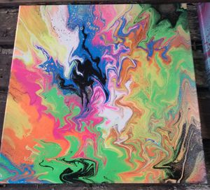 Abstract Acrylic Painting for Sale in Cadillac, MI