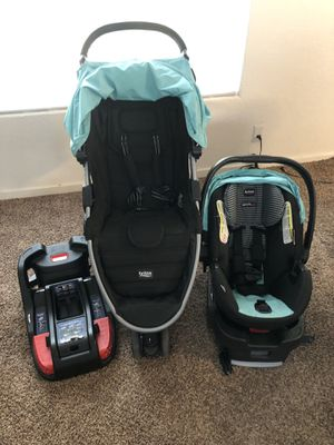 Britax car seat stroller and 2 bases for Sale in Springfield, OR