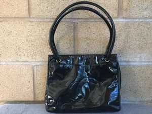 Authentic Chanel Patent Leather Tote Bag for Sale in Upland, CA