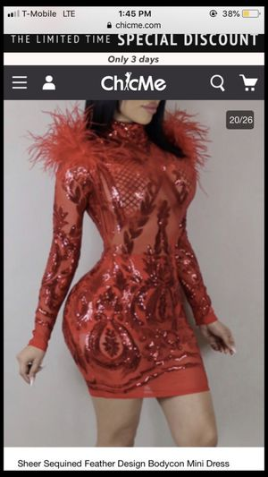 Red bodycon dress for Sale in Philadelphia, PA