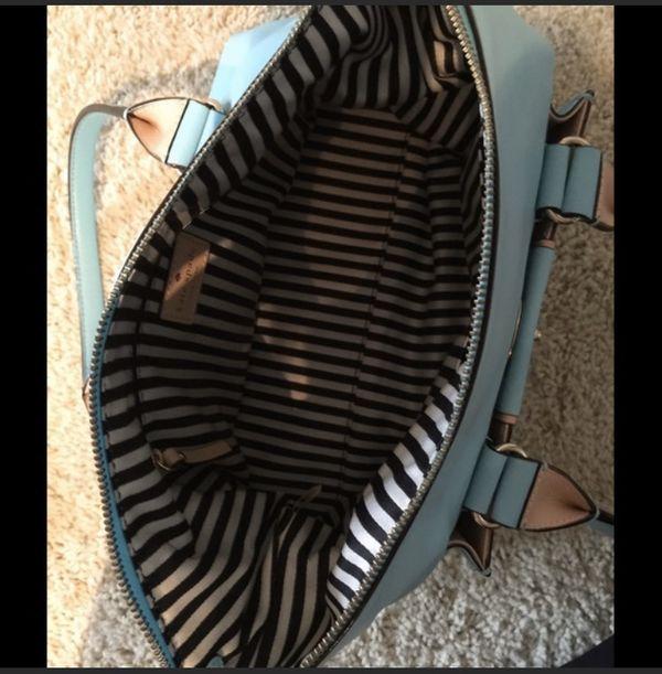 Kate Spade Caribbean blue handbag/purse