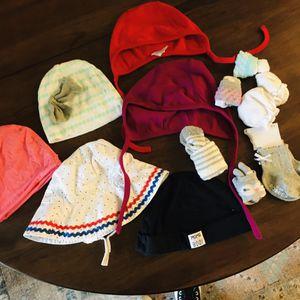 Baby hat beanie socks bundle for Sale in Tustin, CA