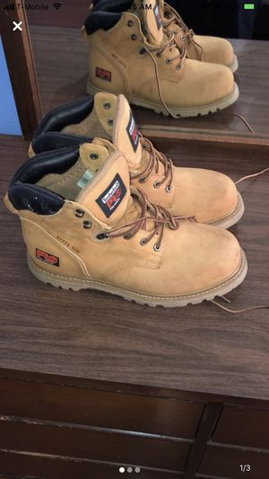 Size 10.5 Timberlands Steel Toe for Sale in Tarpon Springs, FL