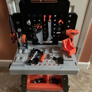 Kids Black And Decker Workbench With Tools for Sale in Sarasota, FL