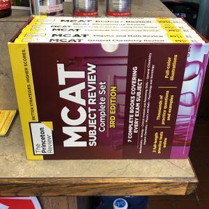 MCAT Books !! for Sale in Chicago, IL