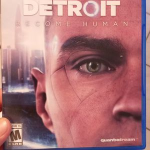 PS4 DETROIT BECOME HUMAN GAME for Sale in Hialeah, FL