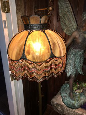 Stain glass floor lamp absolutely beautiful for Sale in Palm Harbor, FL