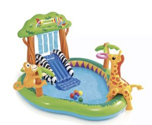 INTEX Jungle Play Center Inflatable Kid Swimming Pool for Sale in McKinney, TX