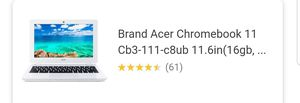 ACER CHROMEBOOK 11 for Sale in Hayward, CA