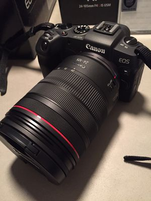Canon EOS RP with RF f4 24-105 mm lens for Sale in Beverly Hills, CA