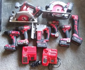 Milwaukee power tool set for Sale in Seattle, WA