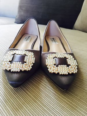 Super beautiful and elegant flat shoes Brand New Size 6 for Sale in Fort Lauderdale, FL