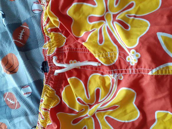 Hawaii Orange and yellow water shorts
