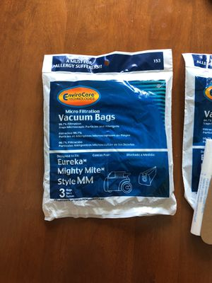 Used, Vacuum bags, style MM for Sale for sale  Plano, TX