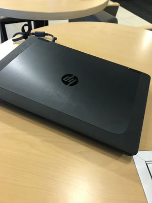 HP Laptop ZBOOK15 workstation. Clean install of Windows10 for Sale in Bolingbrook, IL