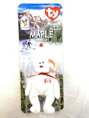 Maple The Bear-1997 McDonald's Ty Beanie Baby With Rare Errors 1993 OakBrook T13 for Sale in Tyler, TX