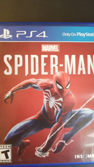 Spiderman for PS4 *basically new* for Sale in Escondido, CA