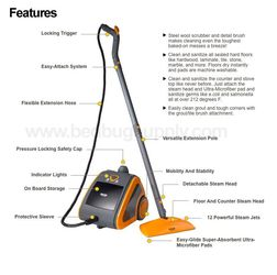HAAN MS-30 Steam Cleaner (42 PSI) for Sale in Portland,  OR