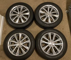 Nissan Wheels with tires 225/55/17 for Sale in Knoxville, TN
