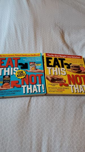 Eat this not that diet books for Sale in Las Vegas, NV