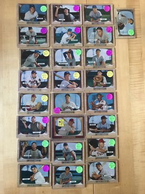 * 1955 BOWMAN BASEBALL CARDS * RARE! * Prices On Cards * for Sale in Lafayette, CA