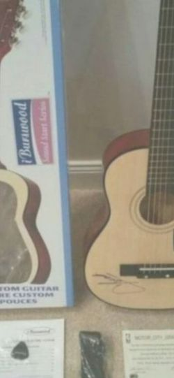 CLAY WALKER AUTOGRAPHED GUITAR W COA BRAND NEW ( 30IN GUITAR!)!! for Sale in Delray Beach,  FL