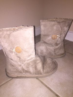 Tan boots (size 7.5) for Sale in Houston, TX