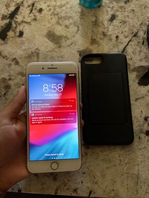 iPhone 7 Plus!! $250 with case 128G!! for Sale in Fresno, CA