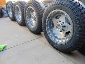 LT 305 55 20 Tires & 20X10 Rims* F250 or Excursion*8X170*-24MM Offset* for Sale in Aurora, CO