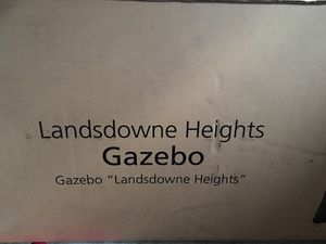 Landsdowne Gazebo 10x10 . New in a box for Sale in Gaithersburg, MD