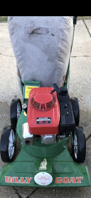 Billy Goat Vacumm with Honda motor for Sale in Mount Prospect, IL