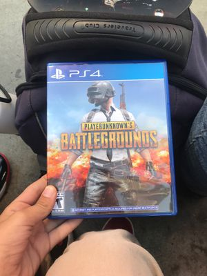 PUBG ps4 for Sale in Reedley, CA