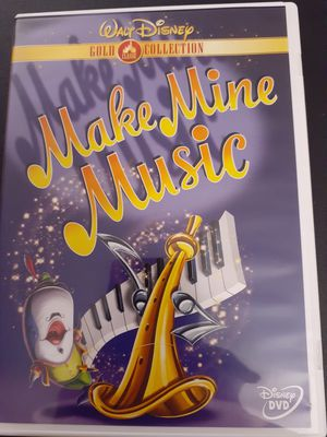 Disney's MAKE MINE MUSIC GOLD Edition (DVD) for Sale in Lewisville, TX