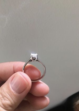 diamond engagement ring - 0.8 Carat /plat band for Sale in Portland, OR