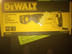 75 for Dewalt, 230 for ridgid 110 for the ego blower 120 for table saw for Sale in Hemet, CA