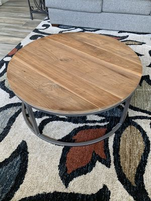 "40"" Handcrafted Solid Oak Coffee Table - JW Atlas Wood Company for Sale in Scottsdale, AZ"