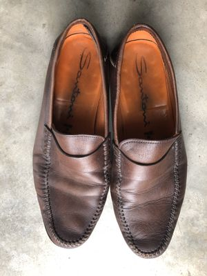 Santoni loafers and Santoni black dress shoes for Sale in San Diego, CA