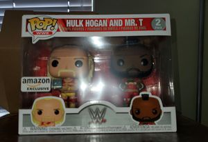 Funko Pop Amazon Exclusive Hulk Hogan and MR. T for Sale in Norwalk, CA