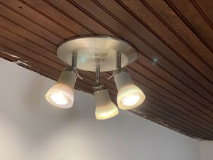 2 light fixture $10 each for Sale in Highland Charter Township, MI